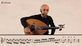 تعليم عزف أغنية عالعين موليتين على العود | izif.com