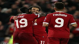 Liverpool's forwards downed Roma... from Mohamed Salah as a false winger to Roberto Firmino in