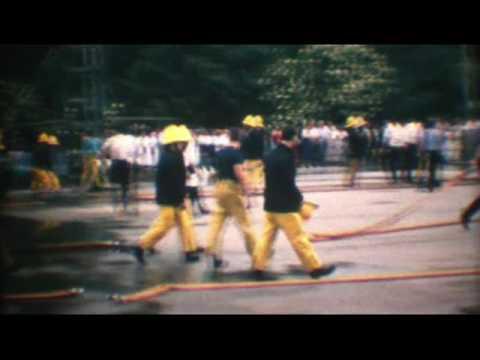West Midlands Fire Service Pump Drills at the NEC 1986