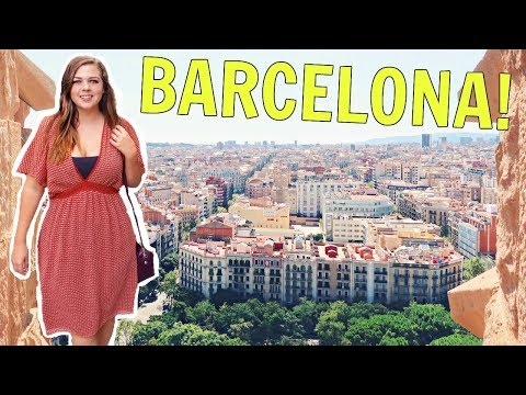 FIRST TIME IN BARCELONA, SPAIN!! || SPAIN TRAVEL VLOG