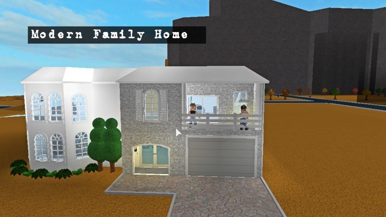 Modern Family Home-Roblox Bloxburg