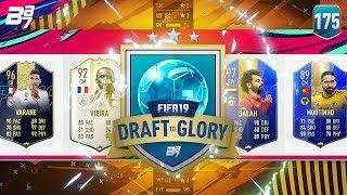 REVERSE BUILD DRAFT! WHAT A DRAFT! | FIFA 19 DRAFT TO GLORY #175