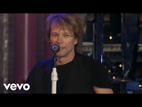 Bon Jovi - Livin' On A Prayer (Live on Letterman) Mp3