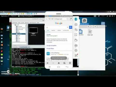 Kali Linux-android phone hacker payload APK Professional way