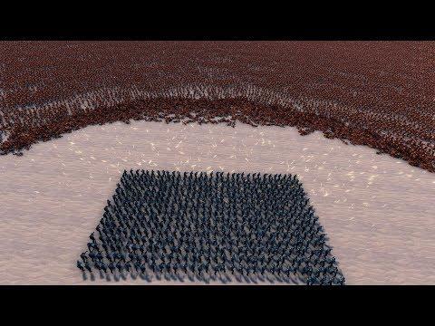 3.000 RESISTANCE REBELS vs 50.000 NECROTIC - Ultimate Epic Battle Simulator