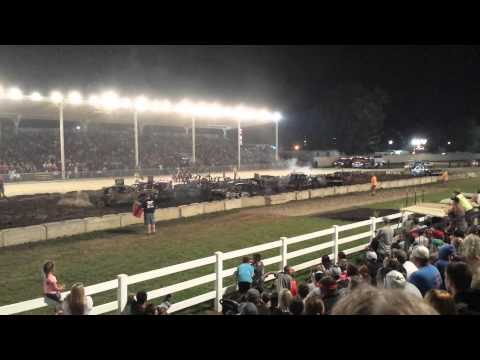 2015 Preble County Demolition Derby