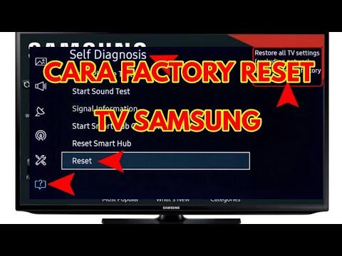 Cara Factory Reset TV Samsung
