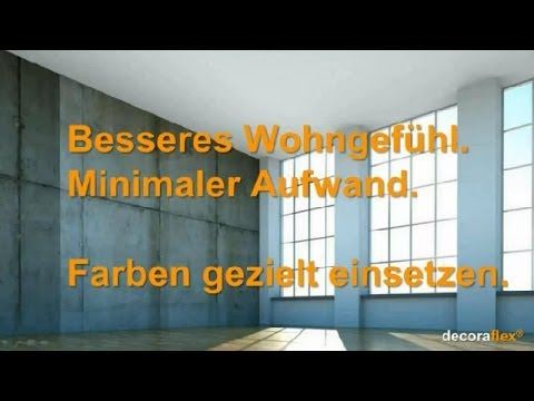 sch new nde wohnraumgestaltung wohnatmosph re steigern mit farben youtube. Black Bedroom Furniture Sets. Home Design Ideas
