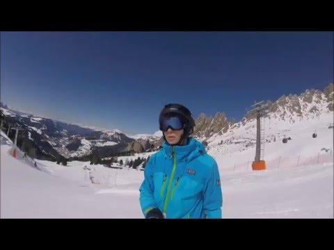 Gopro hero 4 session ski mountain view