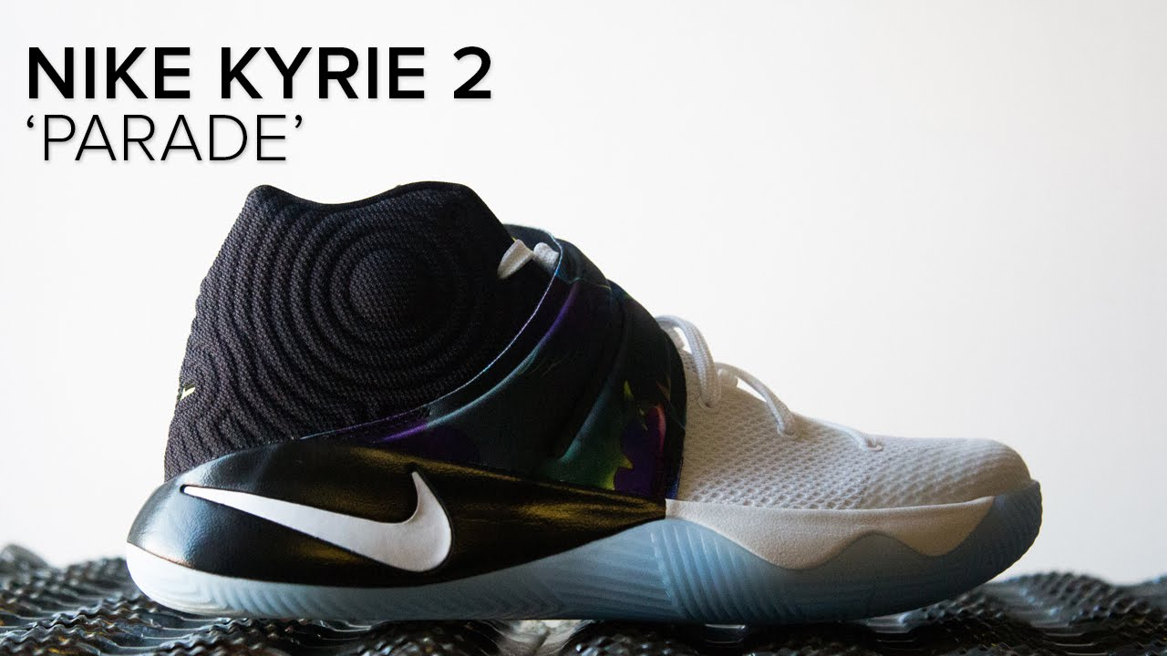 buy popular 78a90 35b99 Nike Kyrie 2 'Parade' Quick On Feet Look