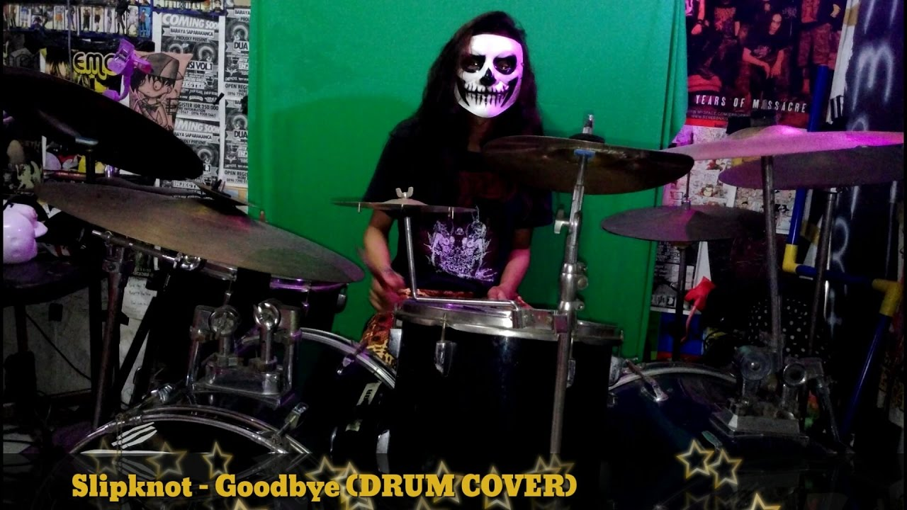 slipknot drum cover