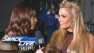 What does Natalya have planned for Naomi at SummerSlam?: SmackDown LIVE Fallout, Aug. 15, 2017