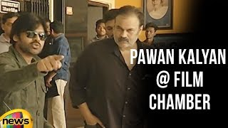 Pawan Kalyan at Film Chamber | Sri Reddy | Tollywood Controversies | Mango News