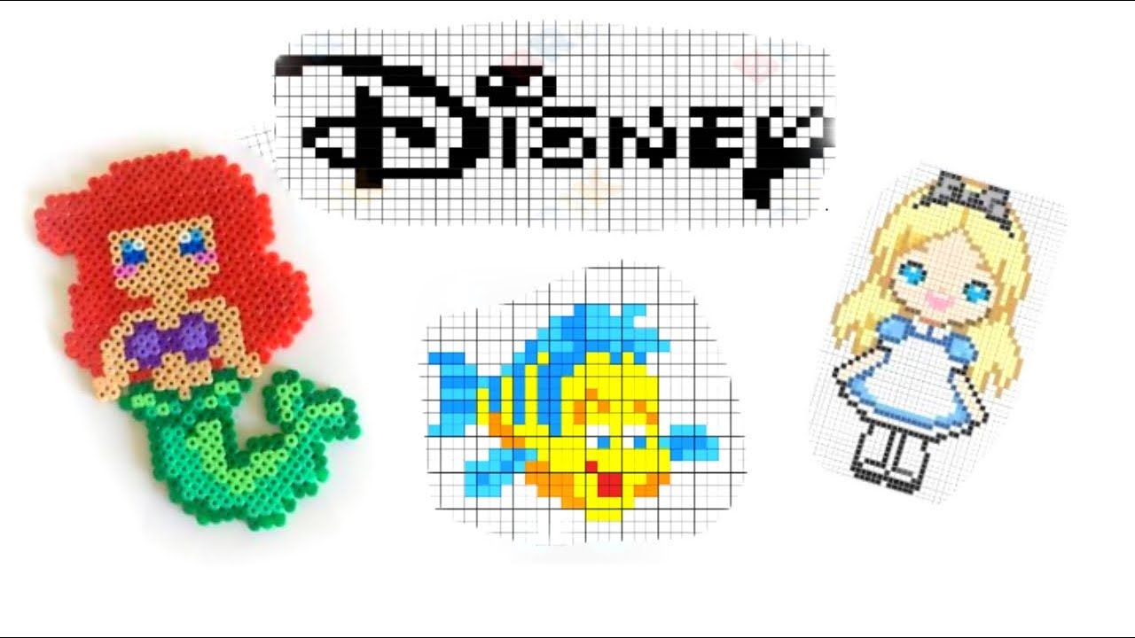 Speed Coloring Pixel Art Disney