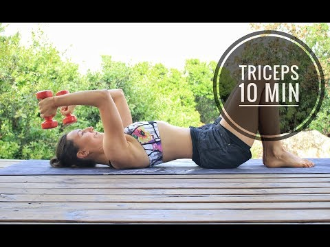 Ejercicios para TRICEPS tonificado en 10 min | MalovaElena