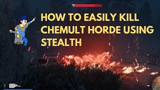 Chemult Horde Easy Stealth Kill - Days Gone - You Alone Have I Seen