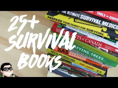 25+ Survival, Prepping & Bushcraft Books