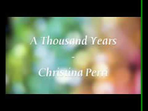 Song-A thousand years ago