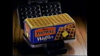 2000 - Thomas' Fresh Waffles - Don't Freeze Commercial