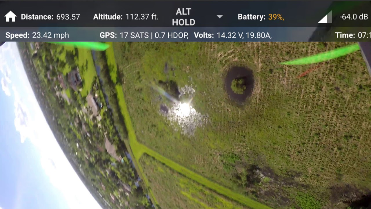 Open Solo Green Cube (3DR Solo) - 60 MPH Sport Mode Flying, and Then