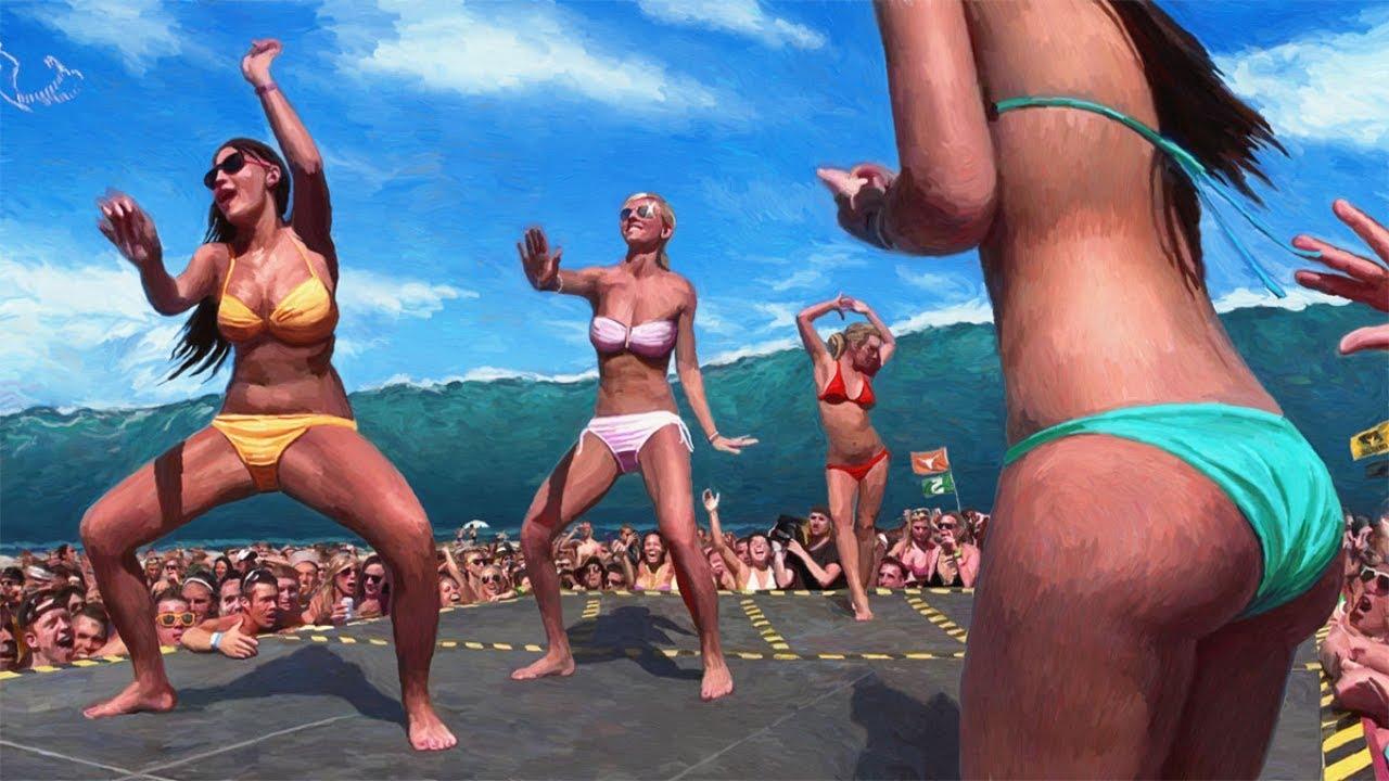 Танцуют голые балерины фото