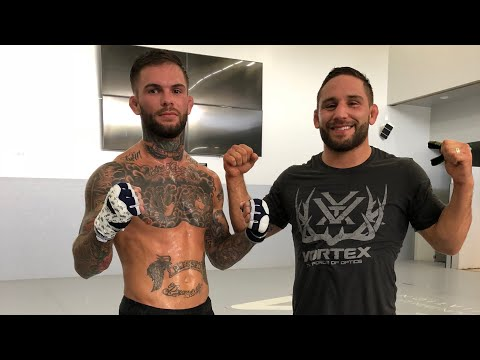CHAD MENDES HARD SPARRING SESSION: UFC IDAHO