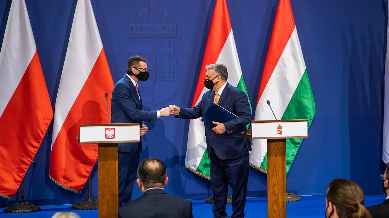 Magyar-lengyel miniszterelnöki sajtótájékoztató (2020. november 26.)