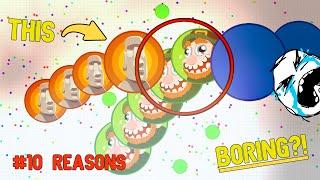 10 REASONS Why AGAR.IO Is Getting BORING!