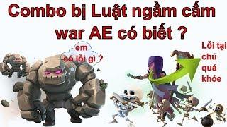 NMT | Clash of clans | Combo bị các clan chuyên hall 9 cấm war