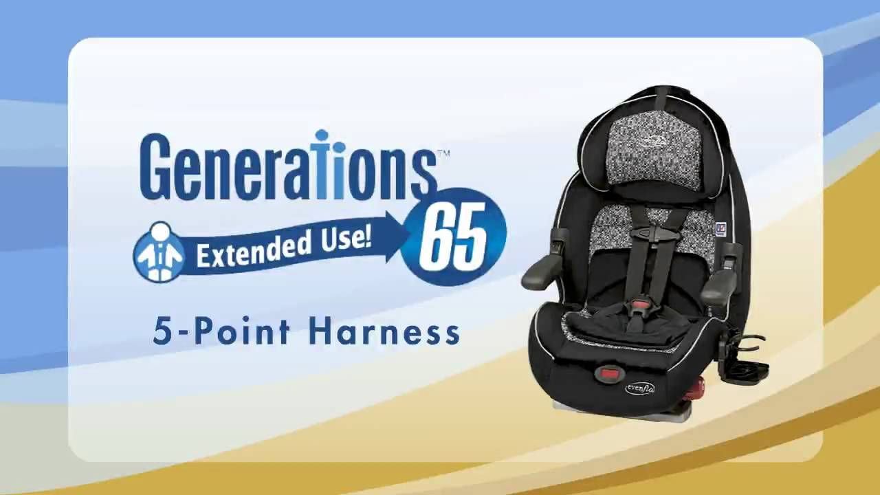 Car Seat Installation Evenflo Generations 65