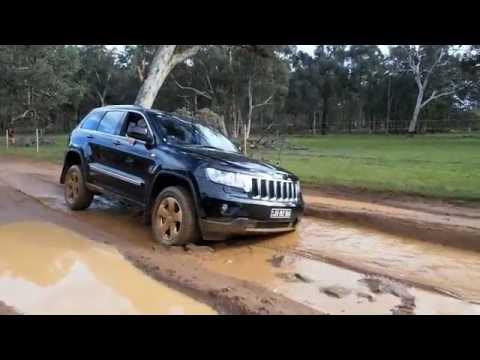 2012 Jeep Grand Cherokee Laredo >> 2012 Jeep Grand Cherokee Off-road - YouTube