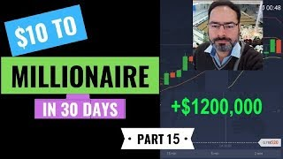 Adnan $10 To Millionaire Series 2019 Part 15  With IQ Option Real Account