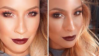 Dark Lip Makeup Look (Talk through) Thumbnail