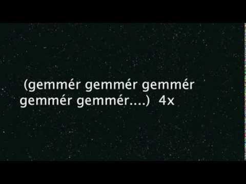 Gemmér - texti