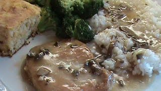 Pork Chops With Special Mushroom Sauce