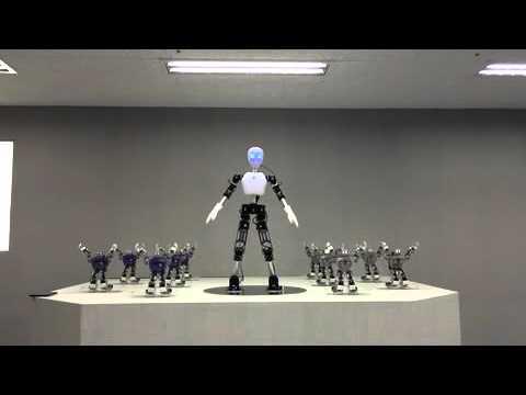 UXA-90 & Dance Robot performance