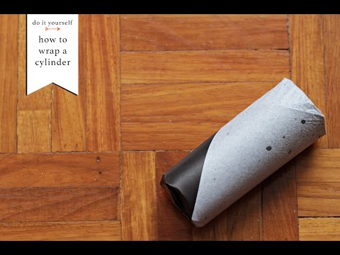 How to Wrap a Cylinder | Gift Wrapping Basics
