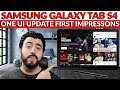 Samsung Galaxy Tab S4 One UI Android Pie Update - First Impressions - A New Better Tablet