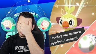 I RELEASED a SHINY (Not Clickbait) Surprise Egg Saturday! Pokemon Sword and Shield