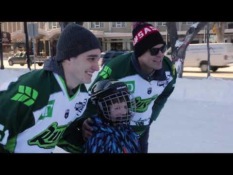 Rush TV: Meewasin Skating Rink with Saskatoon Tourism