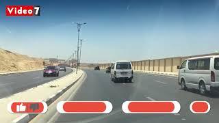 فيديو.. انتظام الحركة المرورية أعلى محور المشير من التجمع لوسط القاهرة - اليوم السابع