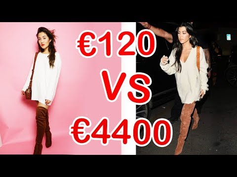 €4400 outfit VS €120 outfit