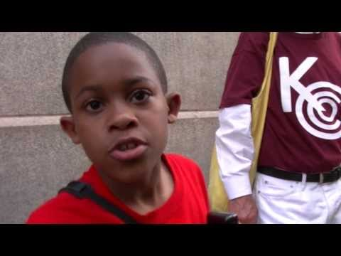 Interview with 9 yr. old Asean Johnson on Chicago school closings