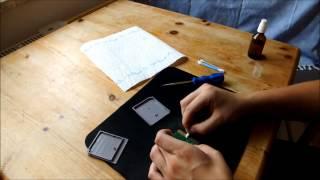 Nintendo Gameboy Spiele (Cartridge/Modul) zerlegen und reinigen