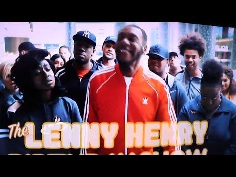 LENNY HENRY AS STORMZY