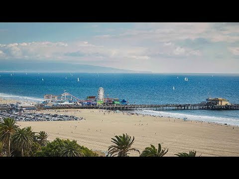 10 Best Santa Monica Beach Hotels, Los Angeles, California, USA