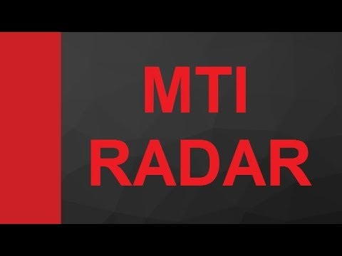 MTI RADAR, Moving Target Indicator RADAR in Microwave and RADAR Engineering by Engineering Funda
