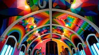 The International Church Of Cannabis Opens With Rainbow Colors