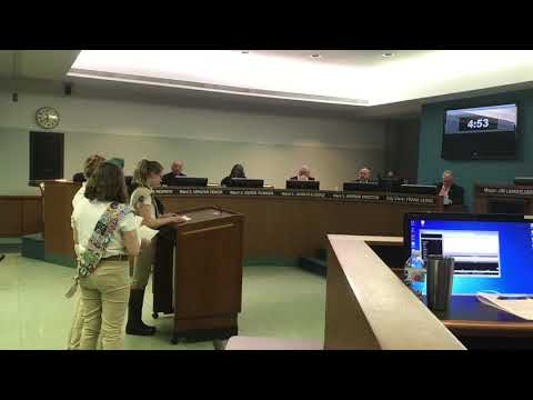 Girl Scout Troop 6195 request solar farm stay in CWLP budget