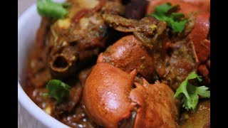 Mud Crab Curry Recipe ক কড র ঝ ল Bengali Traditional Crab Curry Village Style Crab Curry Youtube